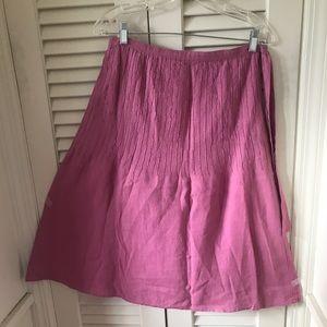 Lovely linen A line skirt Lin'n Laundry GB 16=US12